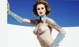 ireland baldwin topless in treats 8599 9