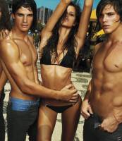 izabel goulart topless with one too many men 4156 4