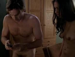 janina gavankar naked in dressing room on true blood 1859 10