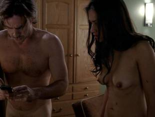janina gavankar naked in dressing room on true blood 1859 11