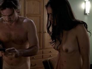 janina gavankar naked in dressing room on true blood 1859 12