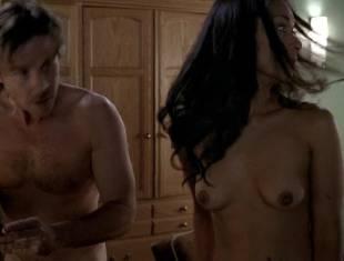 janina gavankar naked in dressing room on true blood 1859 15