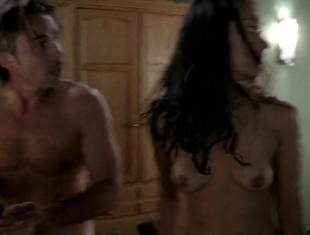 janina gavankar naked in dressing room on true blood 1859 16