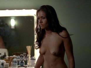janina gavankar naked in dressing room on true blood 1859 6