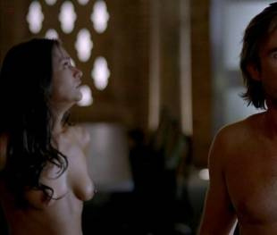 janina gavankar naked in true blood vampire headquarters 1275 10