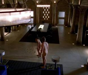 janina gavankar naked in true blood vampire headquarters 1275 11