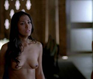 janina gavankar naked in true blood vampire headquarters 1275 8