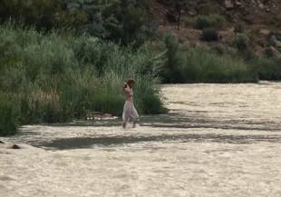 january jones topless in sweetwater aka sweet vengeance 1595 3