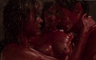 jessica barden nude with billie piper in penny dreadful 2305 15