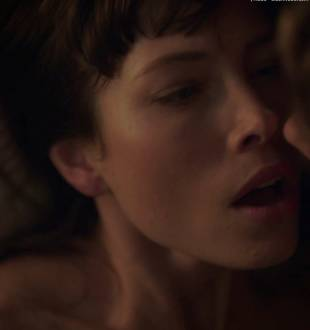 jessica biel topless for a glimpse in the sinner 5387 21