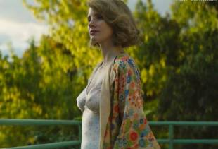 jessica chastain topless in the zookeeper wife 7791 1