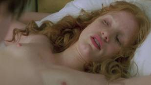 jessica chastain topless on the stripper pole in jolene 1627 11