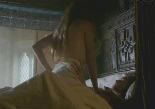 jodie comer topless in the white princess sex scene 2783 12