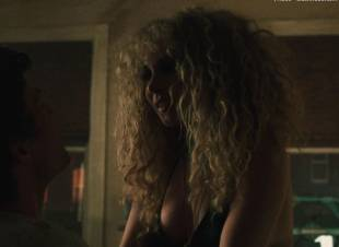 juno temple topless for threesome in vinyl 2608 1