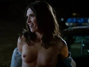 karolina wydra topless on hood of car on true blood 0652 1