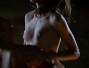 karolina wydra topless on hood of car on true blood 0652 24