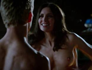 karolina wydra topless on hood of car on true blood 0652 3