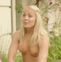 katarina gellin topless for a naked bike ride on hollyoaks later 8073 9