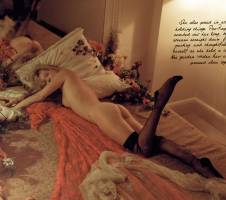 kate moss nude with bush up close for love magazine 1280 1