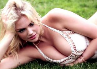 kate upton nipples stand proudly in see through wet top 5602 22