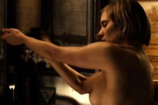 katee sackhoff topless to clean up on riddick 9824 12