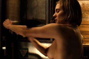 katee sackhoff topless to clean up on riddick 9824 13