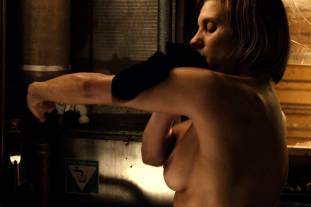 katee sackhoff topless to clean up on riddick 9824 14