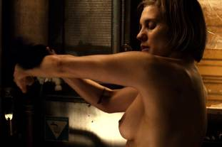 katee sackhoff topless to clean up on riddick 9824 3