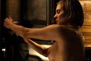 katee sackhoff topless to clean up on riddick 9824 4
