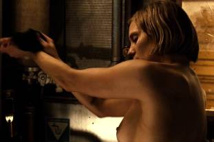 katee sackhoff topless to clean up on riddick 9824 5