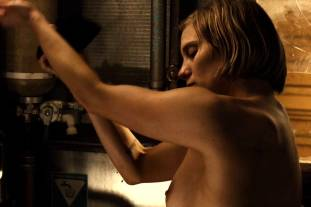 katee sackhoff topless to clean up on riddick 9824 7