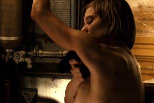 katee sackhoff topless to clean up on riddick 9824 8