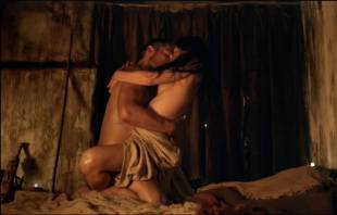 katrina law naked embrace on spartacus vengeance 4046 7