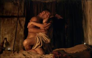 katrina law naked embrace on spartacus vengeance 4046 8