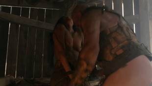 katrina law topless because she wont go quietly on spartacus 0661 16