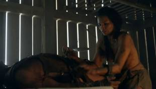 katrina law topless because she wont go quietly on spartacus 0661 22