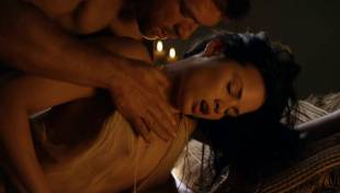 katrina law topless because she wont go quietly on spartacus 0661 6