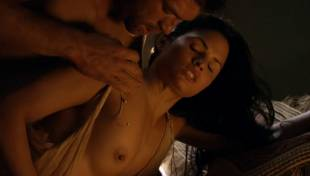 katrina law topless because she wont go quietly on spartacus 0661 8