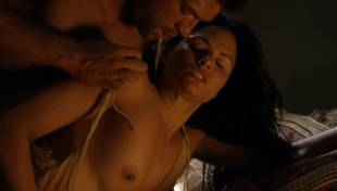 katrina law topless because she wont go quietly on spartacus 0661 9