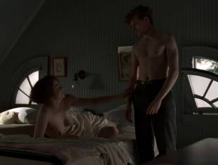 kayla ferguson topless in bed on boardwalk empire 9738 24
