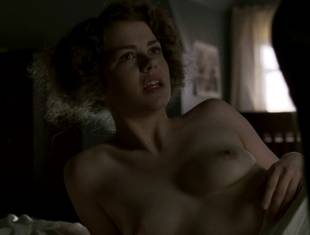 kayla ferguson topless in bed on boardwalk empire 9738 28