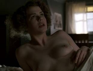 kayla ferguson topless in bed on boardwalk empire 9738 29