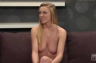 kendra sunderland nude full frontal for naked news audition 3642 16