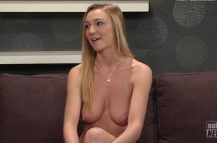 kendra sunderland nude full frontal for naked news audition 3642 19