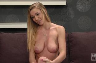 kendra sunderland nude full frontal for naked news audition 3642 29