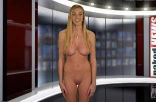 kendra sunderland nude full frontal for naked news audition 3642 42