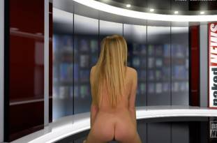 kendra sunderland nude full frontal for naked news audition 3642 47