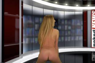 kendra sunderland nude full frontal for naked news audition 3642 48