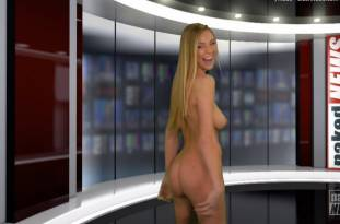 kendra sunderland nude full frontal for naked news audition 3642 49