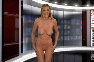 kendra sunderland nude full frontal for naked news audition 3642 50